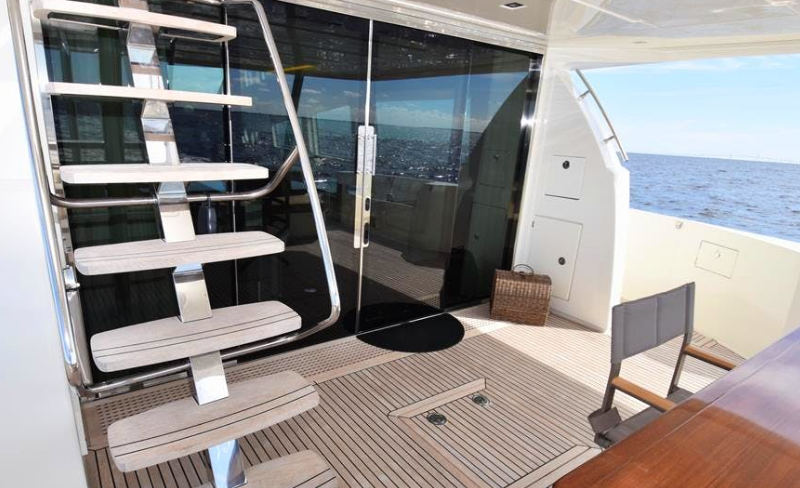 Elevation Aft Deck