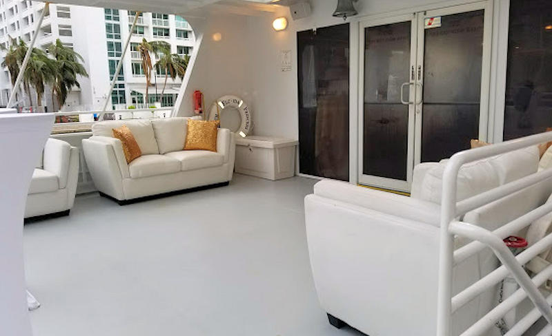 South Florida Princess Aft Deck