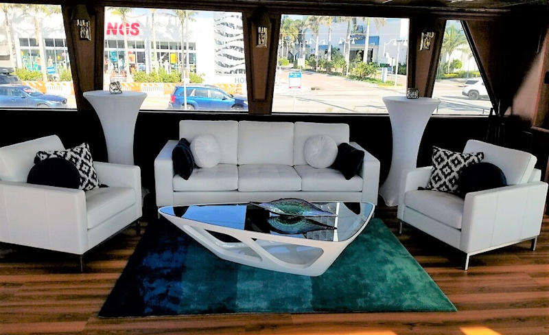 South Florida Princess Deck 2 Lounge Seating