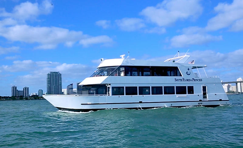 South Florida Princess Exterior