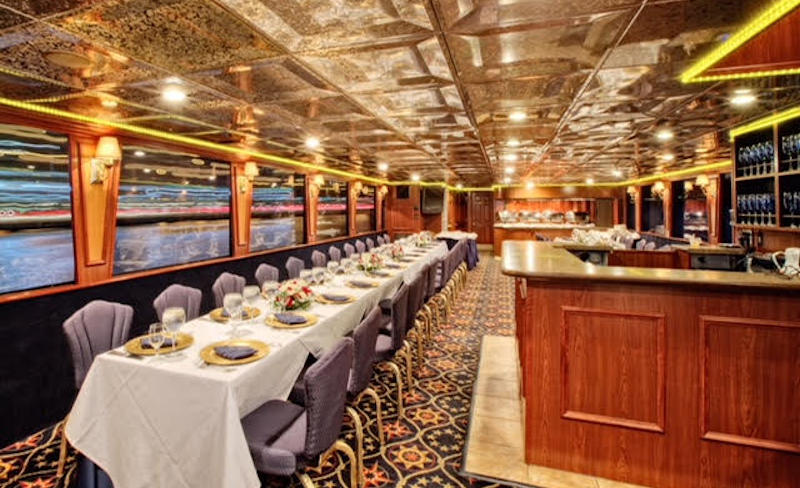 South Florida Princess Main Deck Dining Area